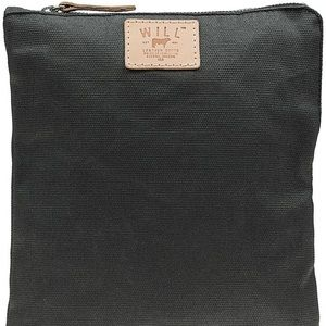 WILL Leather Goods Waxed Canvas iPad Case